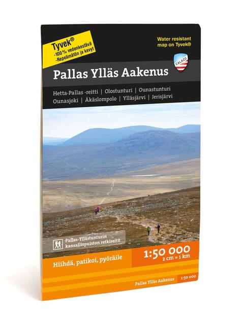 Calazo Pallas Ylläs Aakenus 1:50.000